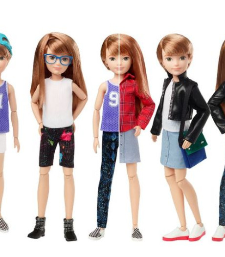 Ni fille, ni garçon: Mattel lance les poupées non genrées