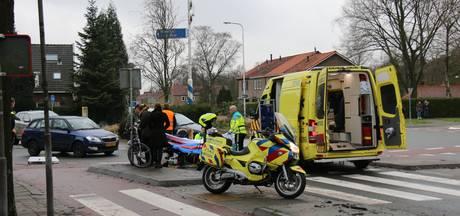 Fietser gewond op rotonde in Velp