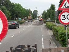 Tilburgseweg in Hilvarenbeek twee weken dicht