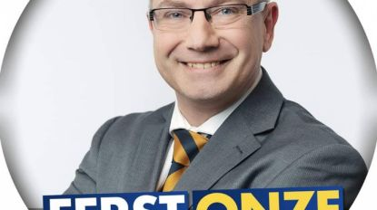 """Steve Herman, lijstduwer VB: """"Over vijf jaar grootste partij in Aalst"""""""