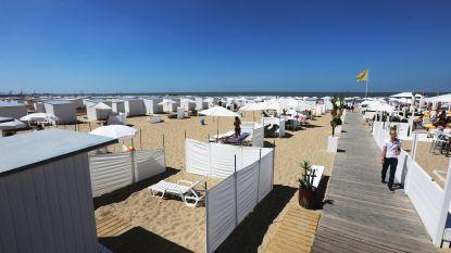 """Nog geen strandcabines in Knokke-Heist door stormweer: """"Rukwinden zorgen voor duinenvorming"""""""