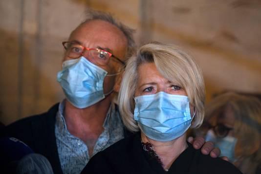 Alexia's ouders Isabelle en Jean-Pierre Fouillot.