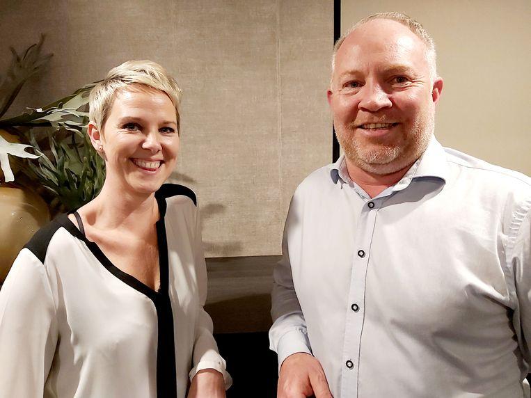 Michèle Roggemans uit Bonheiden en Bruggeling Diego Dupont startten Fairtual Technologies op