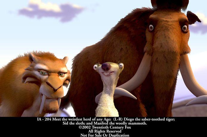 Wim Opbrouck is - in 2012- ook de stem van de mammoet in de Vlaamse versie van Ice Age.  Chris Van Den durpel is de luiaard, Lucas Van den Eynde de Sabeltandtijger.