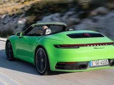 Porsche 911 Cabriolet: van winter naar zomer in 12 seconden