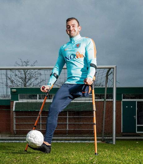 Blind of slechts één been? Ook dan binnenkort 'gewoon' voetballen in Zoetermeer