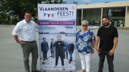 Vlaams volksfeest met Yevgueni