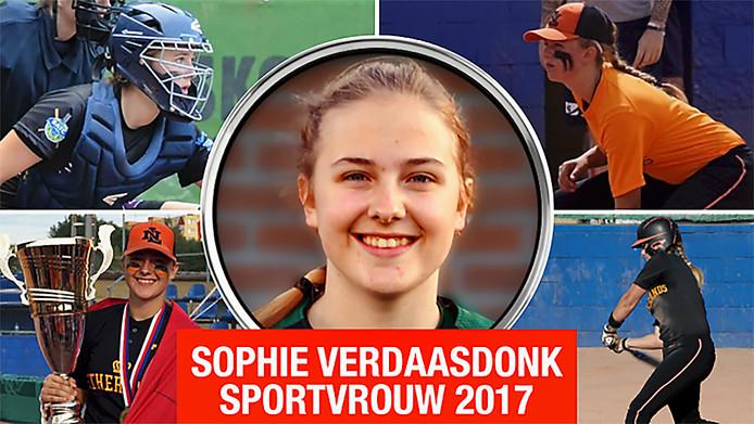 Sophie Verdaasdonk Sportvrouw van het jaar 2017