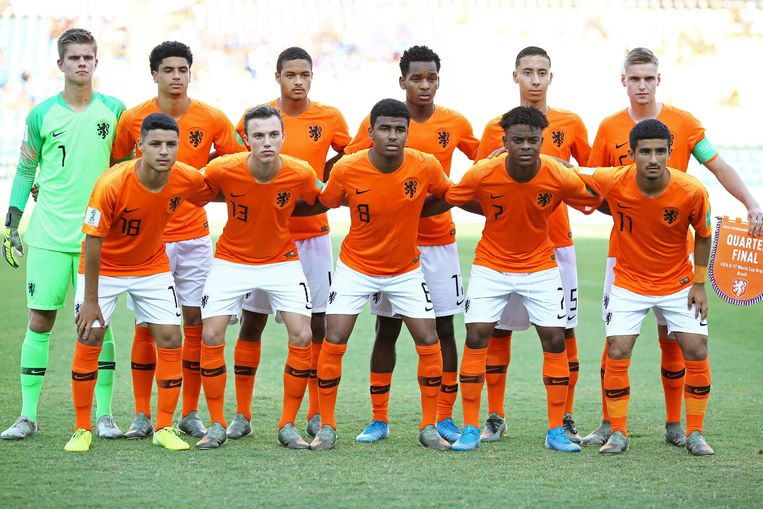 Oranje Onder-17. Beeld BSR Agency