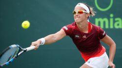 Na Van Uytvanck wint ook Kirsten Flipkens in Miami - Novak Djokovic kan weer pijnvrij tennissen