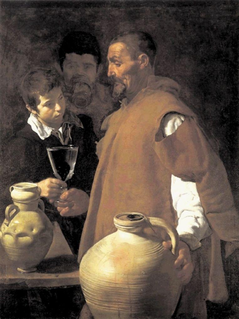 'De waterverkoper van Sevilla' (1623) van Velazquez, voor schrijver Tim Parks een bron van fascinatie. (Trouw) Beeld