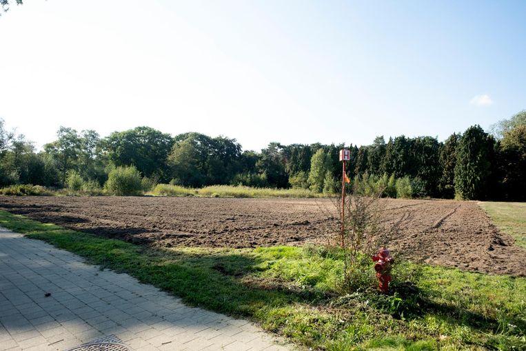 Het gemeentebestuur is volop bezig met de aanleg van een permanent cyclocrossparcours op het domein van de Merel.