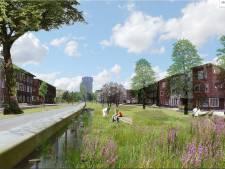 Protest tegen plannen voor het Wielwijkpark
