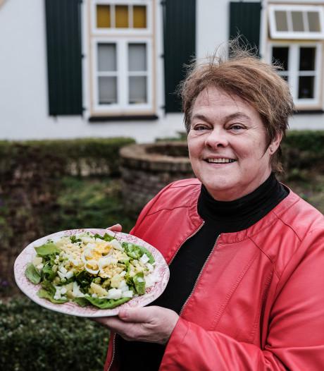 Het familierecept: Sla-met-eitje van de familie Pieterse
