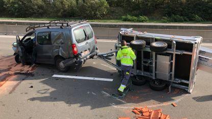 File op E19 naar Brussel door ongeval in Edegem