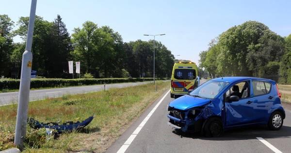 Man gewond bij ongeluk op N65 bij Vught.