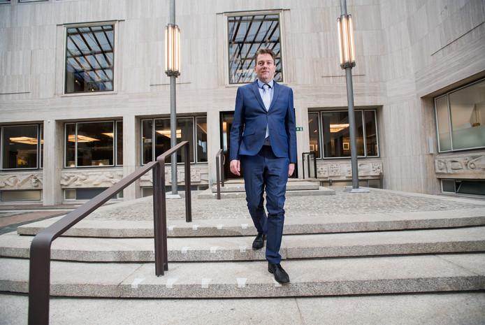 Coen Verheij, lijsttrekker voor de PVV bij de gemeenteraadsverkiezingen in Arnhem.
