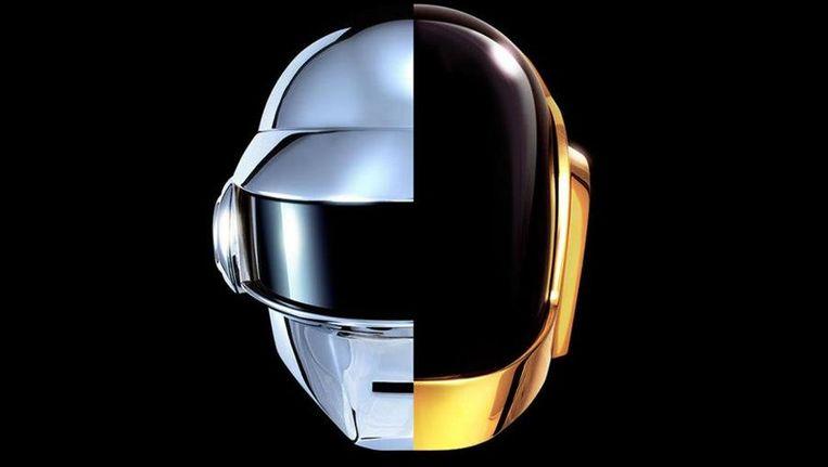 Het nieuwe logo van Daft Punk. Beeld Daft Punk