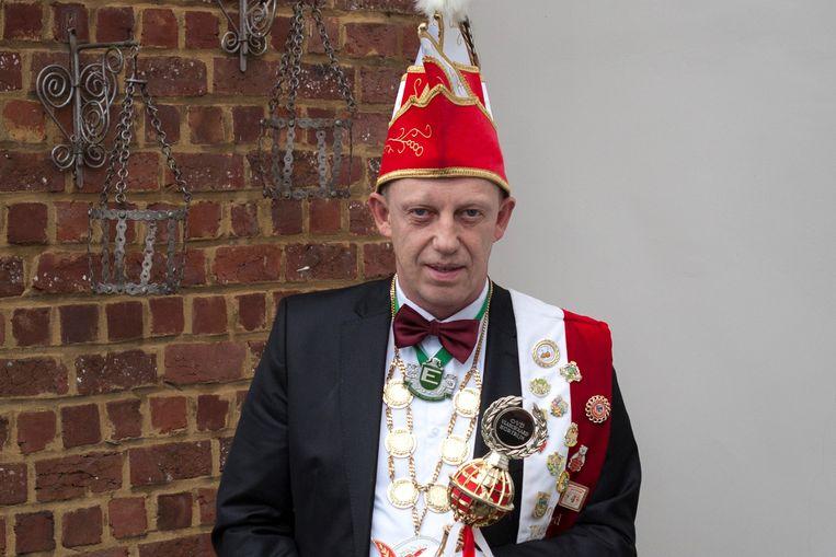 Marc Reniers werd op zaterdag 23 februari aangesteld als nieuws Prins Carnaval in Kortrijk.