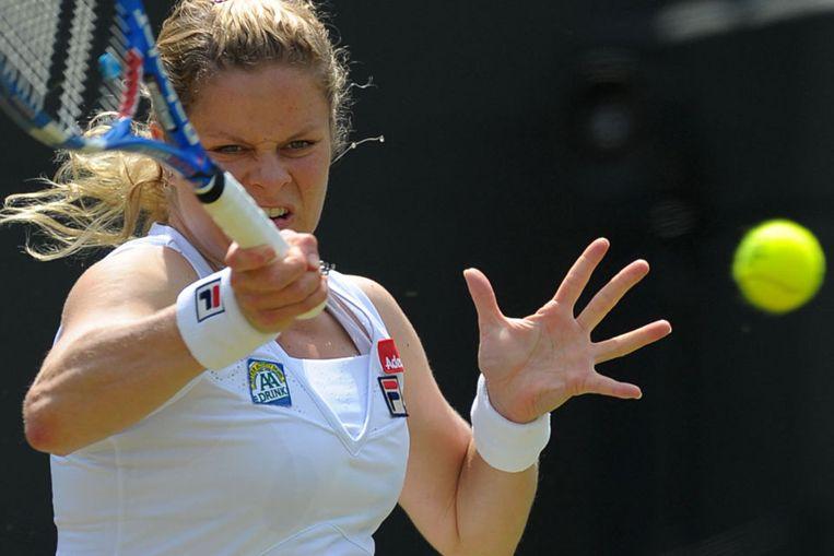 Kim Clijsters. (AFP) Beeld