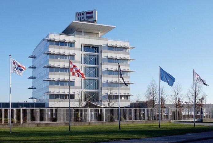 Het hoofdkantoor van VDL Groep in Eindhoven.
