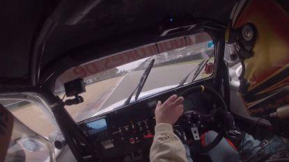 Alerte rij-instructeur voorkomt tweede crash op circuit van Zolder