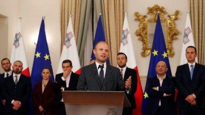 """""""Premier Malta biedt zijn ontslag aan"""""""