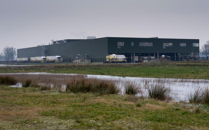 Het pand van bakkerij Holland in Vriezenveen.
