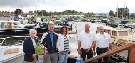 Mijlpaal haven Elburg drie dagen eerder
