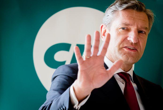 CDA-leider Sybrand van Haersma Buma  ANP BART MAAT