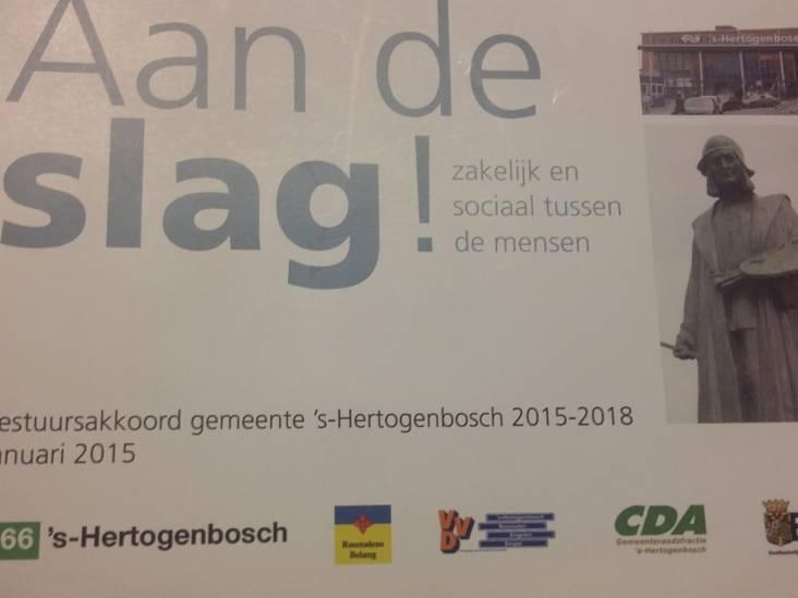 Bestuursakkoord Den Bosch zal geen lijvig boekwerk worden