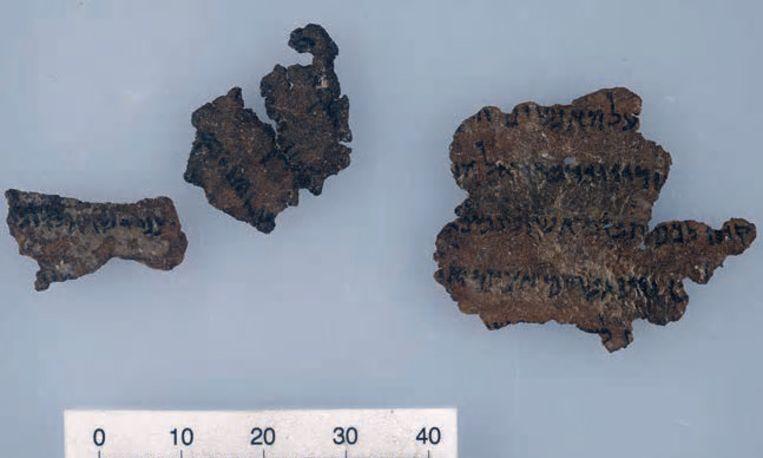 Fragmenten waarvan wordt vermoed dat ze vervalst zijn Beeld Schøyen Collection