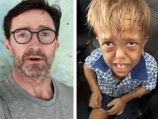 Twee ton en steun van Hugh Jackman voor gepest jongetje: 'Je bent sterker dan je denkt'
