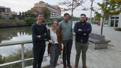 Alexander, Bart, Nathalie en Kristof zijn nieuwe jonge verkozenen in gemeenteraad