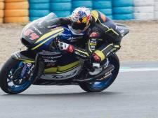 Bescheiden debuut Bendsneyder in Moto2