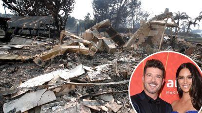 OVERZICHT. Celebrity's meten schade op na verwoestende bosbranden