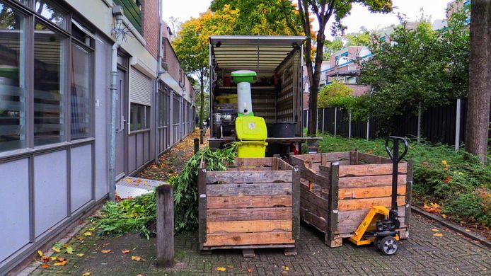 Er is vrijdagmiddag een wietplantage opgerold in Enschede.