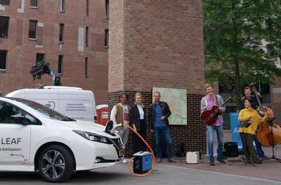 Festival-bier blijft koel dankzij project met elektrische auto in Breda