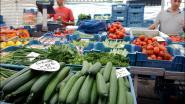 Alleen voedingskramen op woensdagmarkt