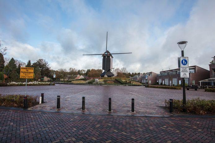 Foto van het centrum van Mierlo ter illustratie.
