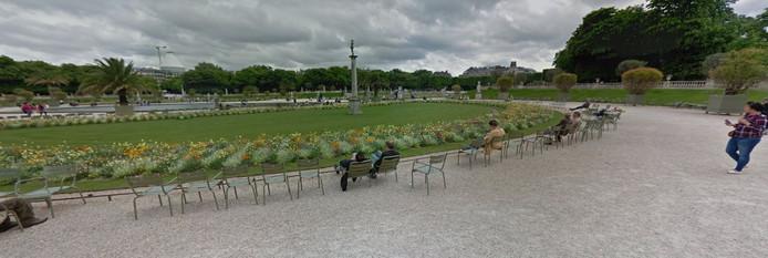 Stoeltjes in Jardin du Luxembourg