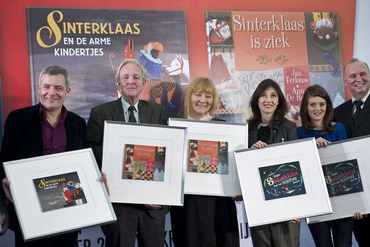 Carice Leest Voor Uit Nieuwe Sinterklaasboekjes De Volkskrant