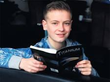 14-jarige Quinn schrijft thriller