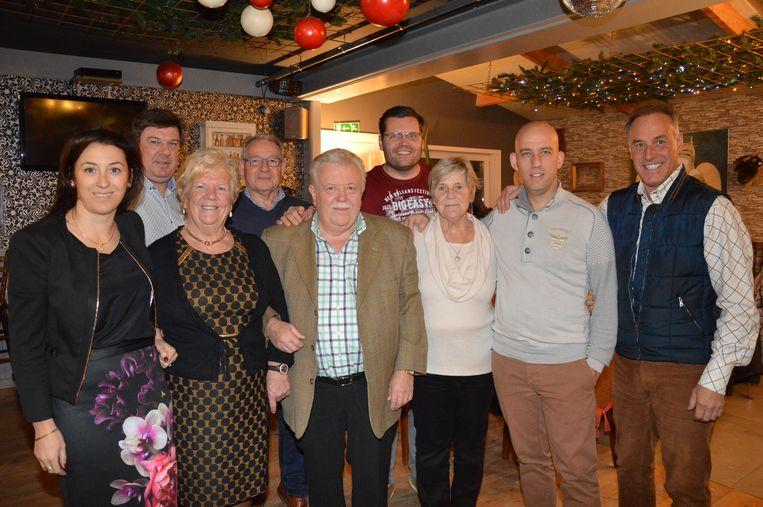 De organisatoren van het kerstconcert in Haaltert.