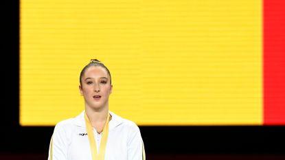 """Vijfvoudig wereldkampioene brug Khorkina: """"Niet gekrenkt als Derwael mij inhaalt"""""""