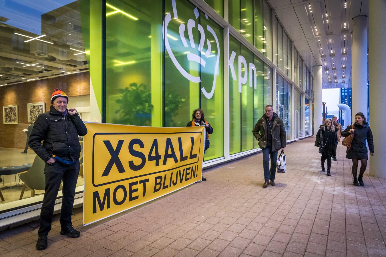 Eigenaar KPN maakte in januari bekend dat merknaam XS4ALL verdwijnt.