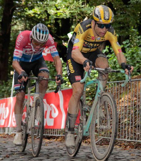 Van Aert over rivaliteit met Van der Poel: 'Ik ga me zondag niet nog eens laten vangen'