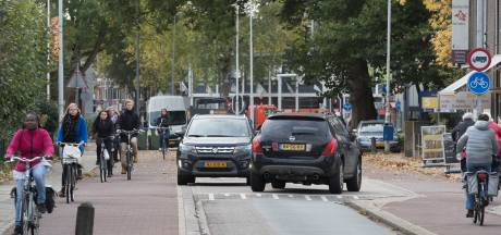 Churchillweg Wageningen wordt fietsstraat, ander plan Bennekom