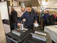 Eerste stemmen uitgebracht in Castricum en Den Haag