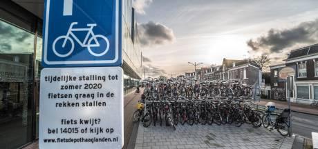Delft stopt met fietsparkeerboten, parkeren op autoplekken blijft wel
